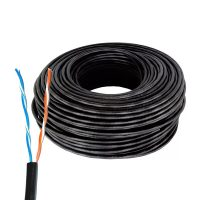 Rollo Cable Utp 100mts Cat 5e 2 Pares Exterior Alarma Mfull