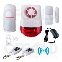 Kit Alarma Domiciliaria Inalambrica Wireless 315mhz 120db